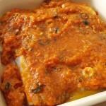 cabillaud sauce provencal au four