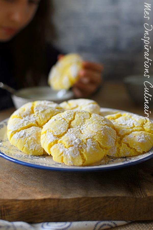 Les Lemon Crinkles moelleux