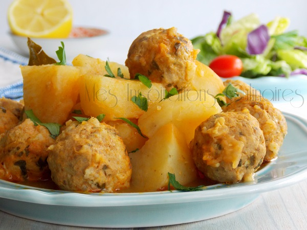 dolma batata boulettes de sardine