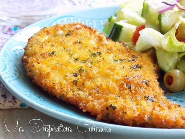 Recette escalope milanaise facile le blog cuisine de samar - Blog de recettes de cuisine ...