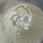 farine yaourt