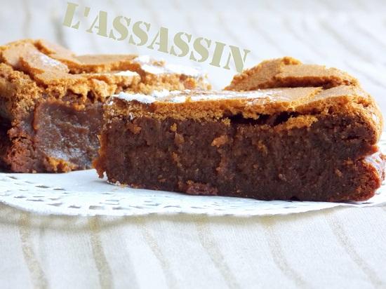Gâteau au chocolat caramel beurre salé