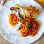 poulet basquaise recette facile 1