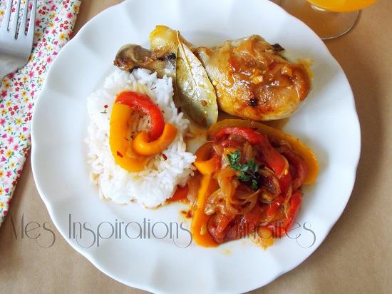 Recette Poulet Basquaise Le Blog Cuisine De Samar