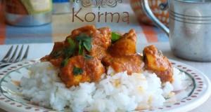 poulet korma indien