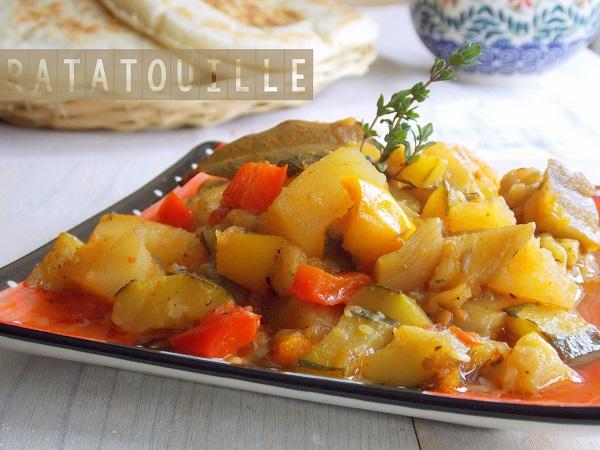 recette ratatouille de légumes