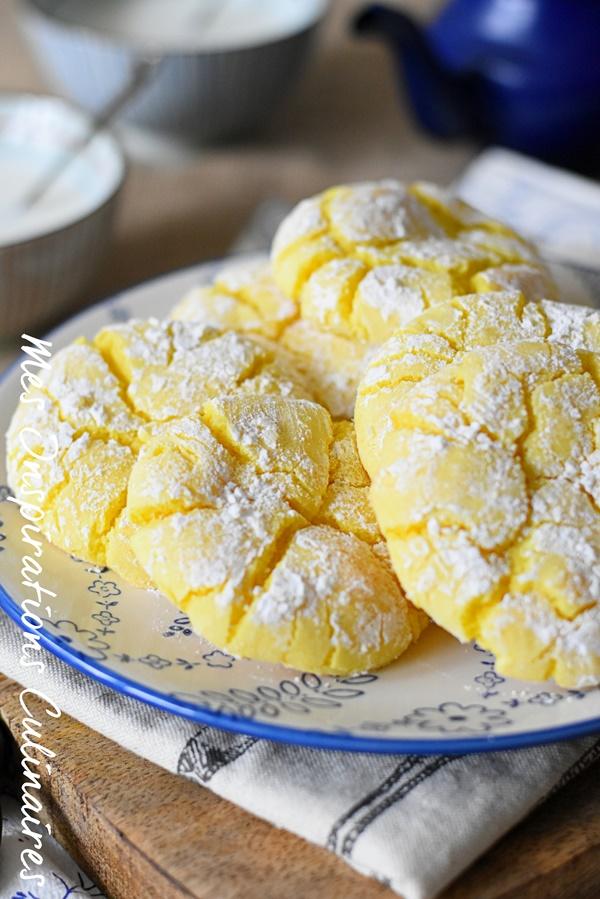 Recette des lemon crinkle facile
