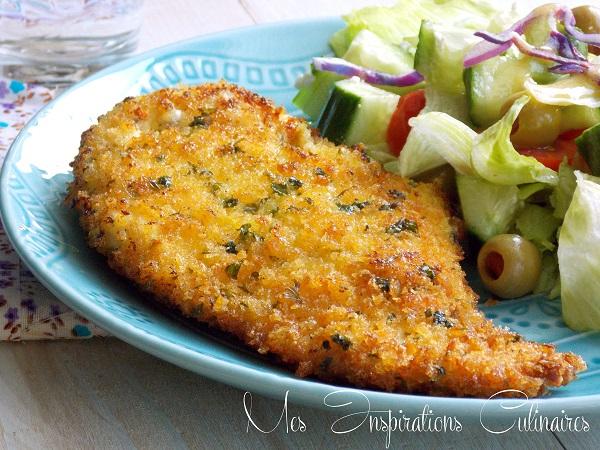 Recette escalope milanaise facile le blog cuisine de samar - Recette de cuisine antillaise facile ...