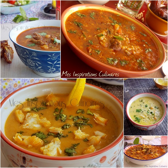 Menu ramadan - Les soupes