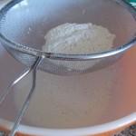 tamiser farine