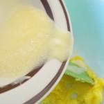beurre fondu