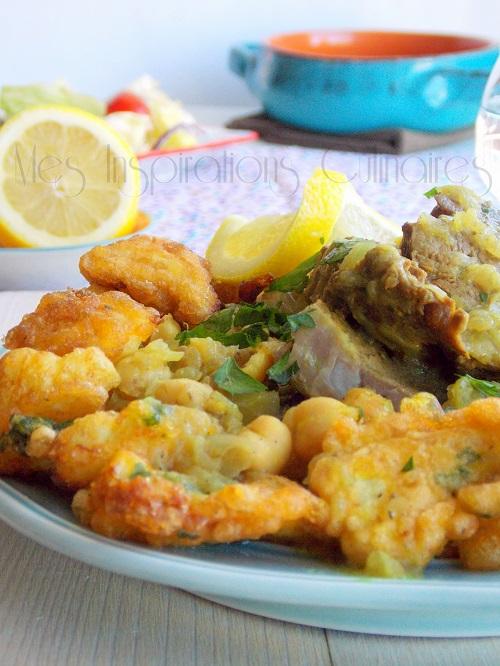 chou-fleur en beignet cuisine algerienne