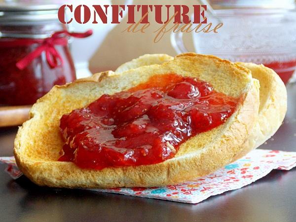Confiture de fraises maison express
