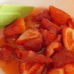 fraises juteuse