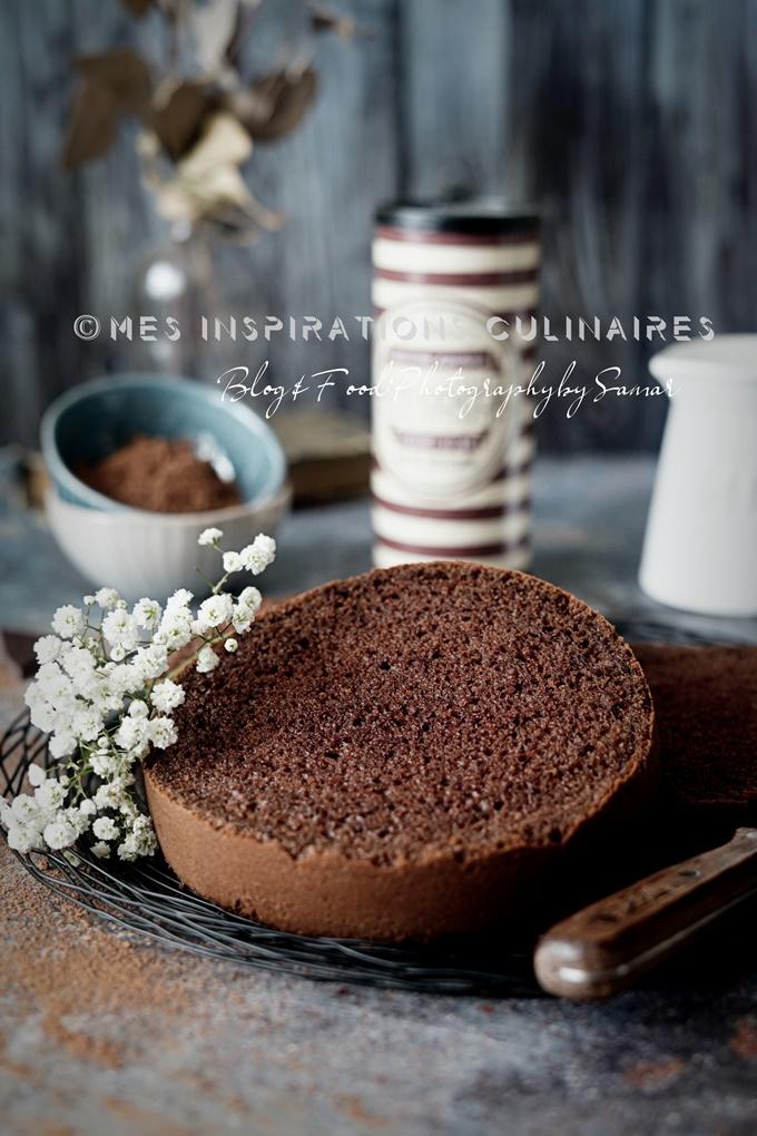 Génoise au chocolat légère et facile