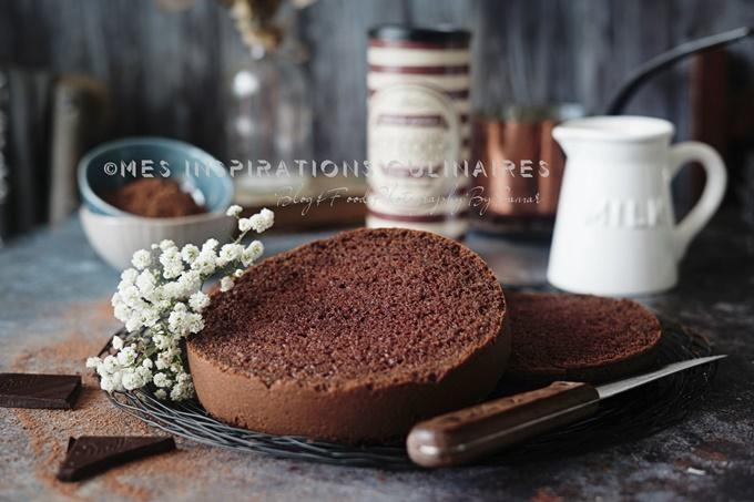 recette Génoise au chocolat facile