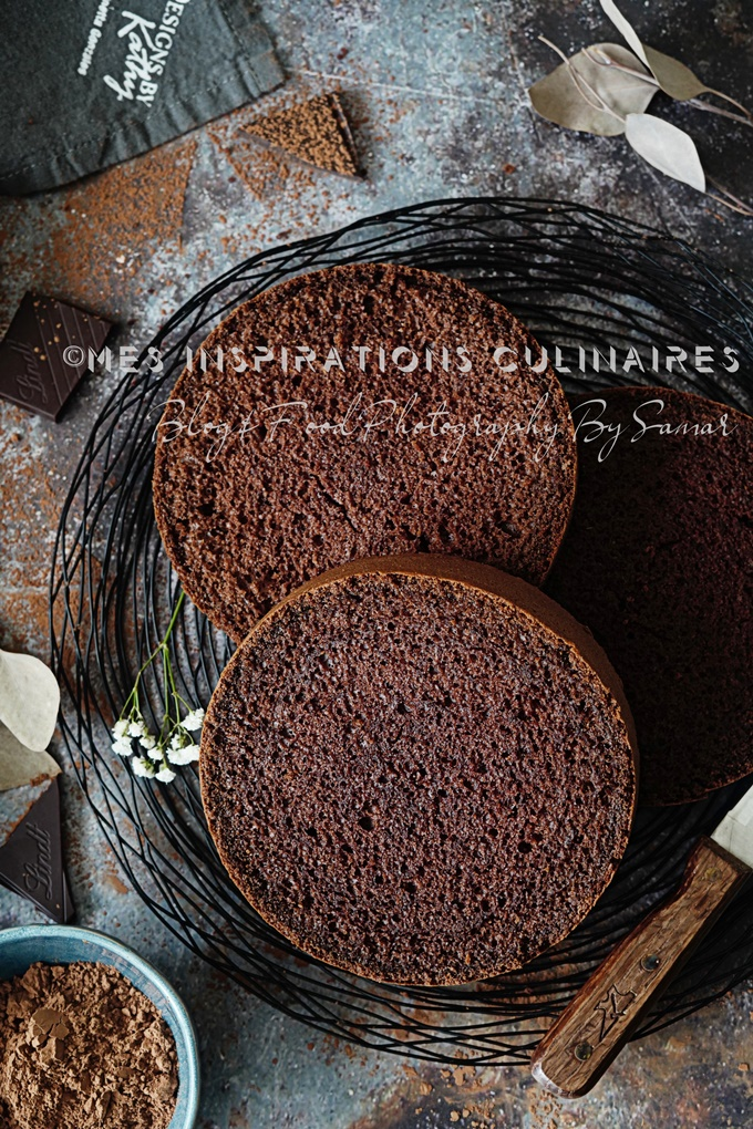 Génoise au chocolat ultra moelleuse