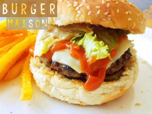 recette  Hamburger maison ultra bon
