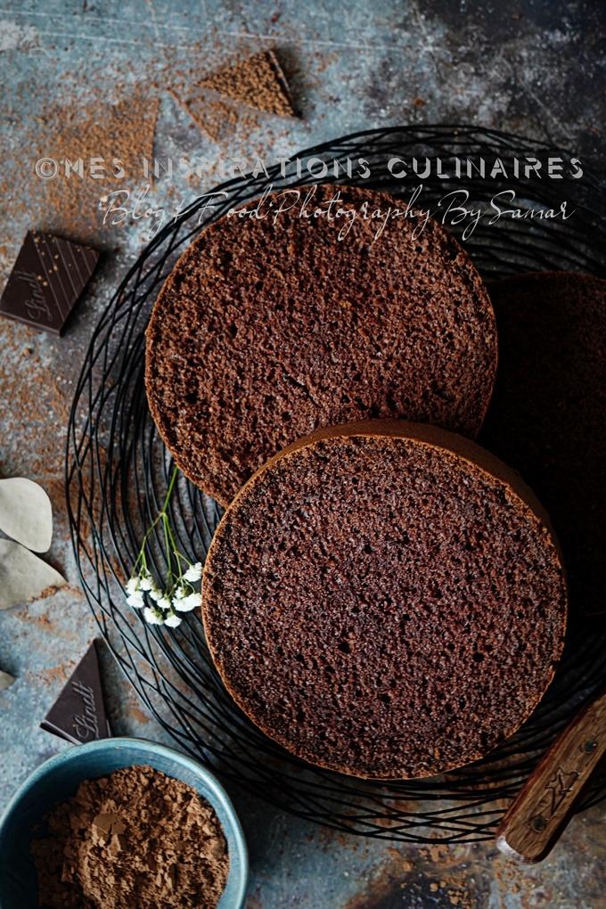 Génoise au chocolat légère