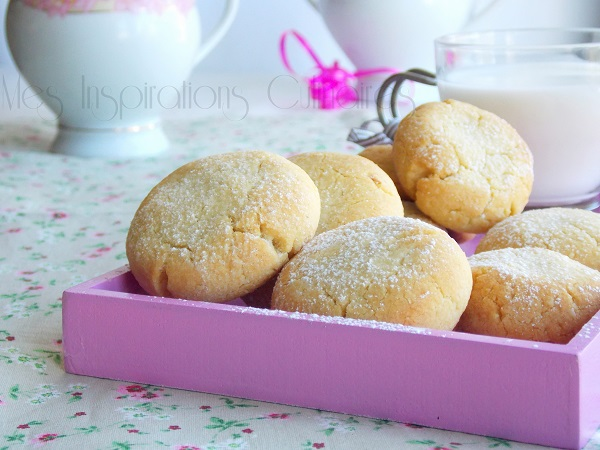 Les Helenettes Biscuits Moelleux Au Jaune D Oeuf Le Blog Cuisine