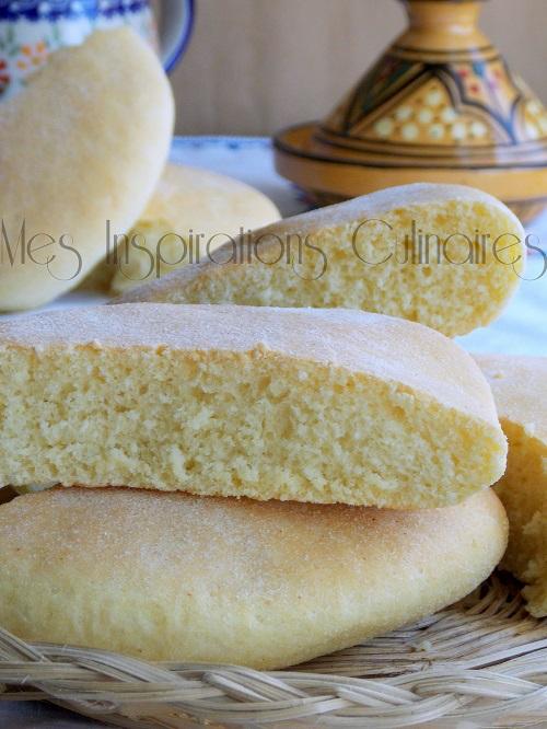 Khobz el koucha (pain algérien au four)