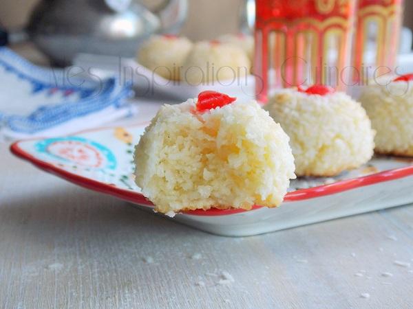 Mchewek à la noix de coco : Gâteau algerien économique