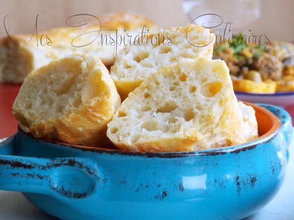 pain 5 minutes sans petrissage au four