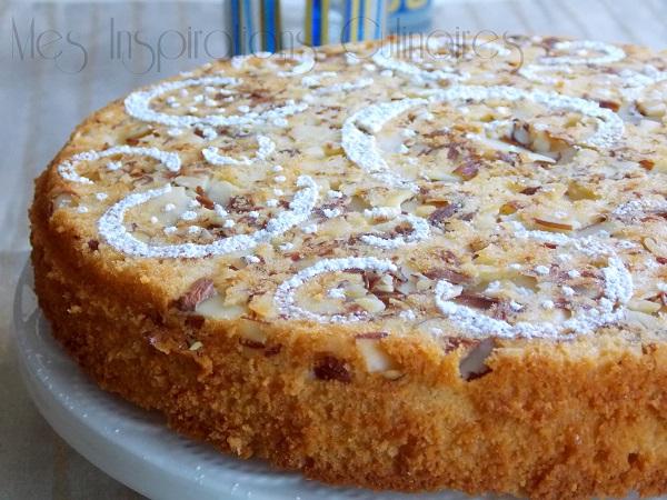 Pain de Gênes ou gâteau voyageur