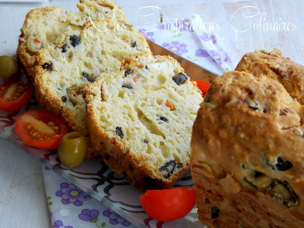 Cake Olive Feta Thon