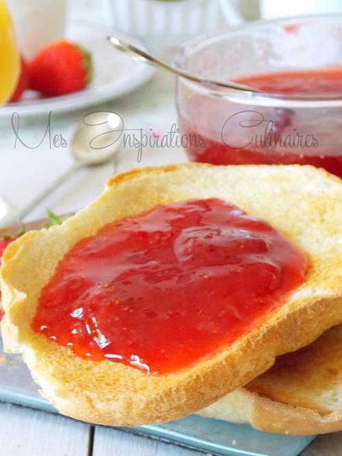 confiture de fraises express 1