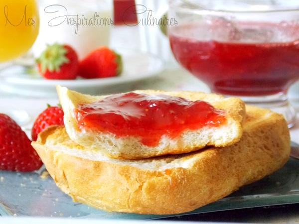 confiture express de fraises au micro ondes 1