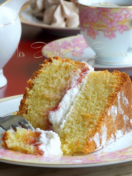 recette Victoria sponge cake
