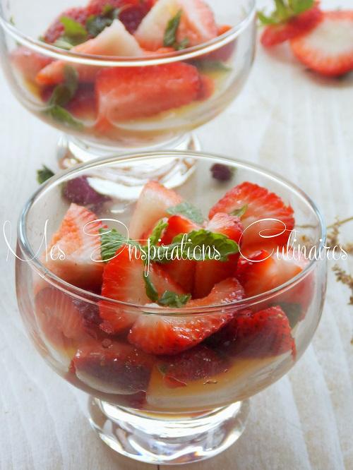 salade de fraises et menthe1