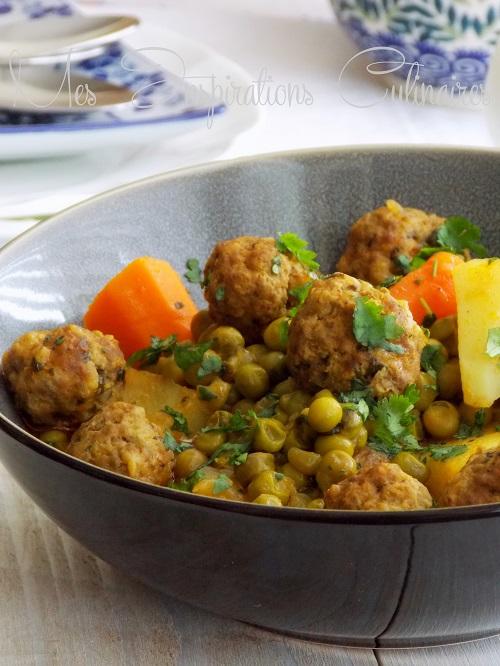 Tajine de souris d'agneau au couscous libanaisCours de Cuisine – Mon