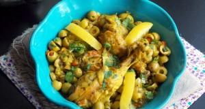 tajine de poulet citron confit 1
