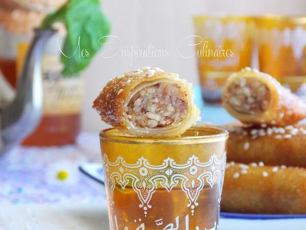 Cigares aux cacahuètes et miel, Chhiwat ramadan 2017