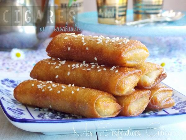Cigares aux cacahuètes et miel, Chhiwat ramadan 2021