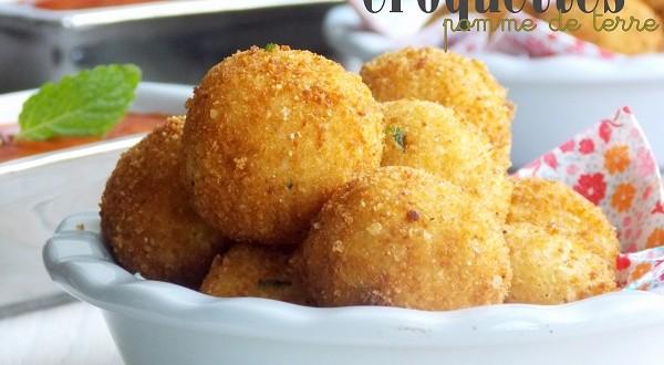 Croquettes de pomme de terre le blog cuisine de samar - Recette de cuisine a base de pomme de terre ...