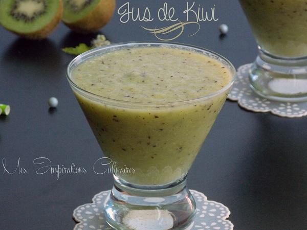 Jus de kiwi : recette facile