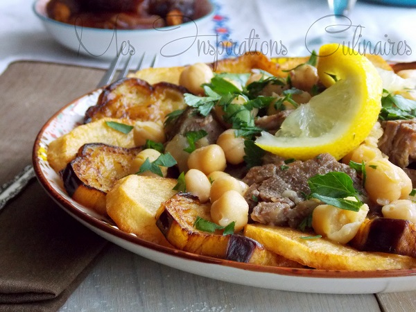 Mderbel aubergines sauce blanche cuisine alg rienne le blog cuisine de samar - Recette cuisine algerienne pdf ...