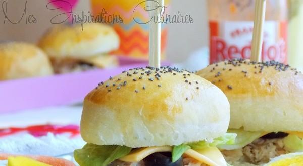 Croissant mini burger moelleux au thon   Le Blog cuisine de Samar DK-47