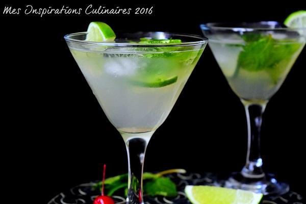 mojito sans alcool cocktail citron vert menthe