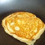 pancake cuisson