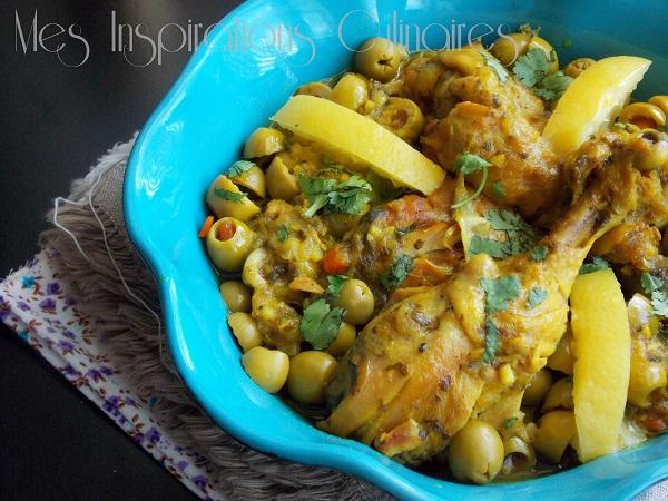 tajine marocain poulet et citron confit 1