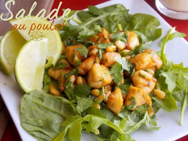 salade au poulet sauce soya 1