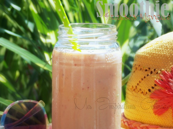 smoothie fraises mangue