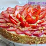 tarte aux fraises creme d'amande michalak 1