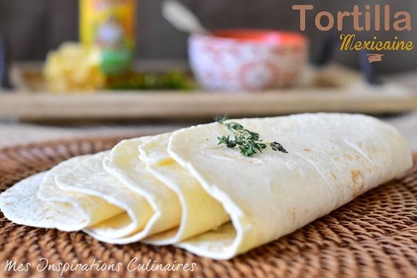 Tortilla mexicaine (à la farine)