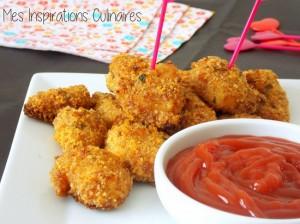 Chicken nuggets, recette sans oeufs
