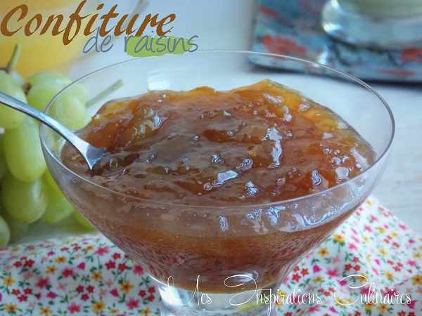 confiture de raisin maison1